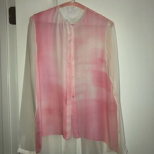 Elie Tahari Button Down